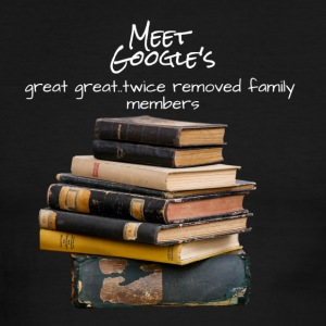 Meet Google's, great great...twice removed family - Men's Ringer T-Shirt