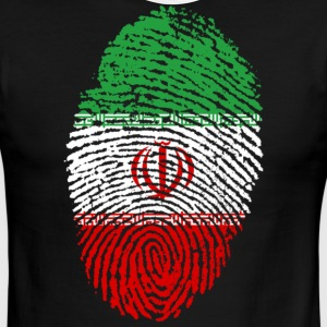 Iran Fingerprint - Men's Ringer T-Shirt
