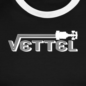Auto Racing Legend vettel - Men's Ringer T-Shirt