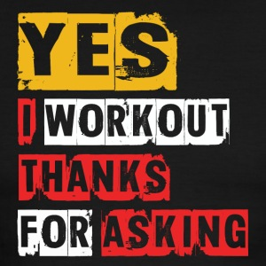 Yes I Workout - Men's Ringer T-Shirt