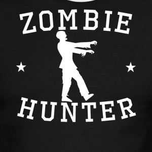 Zombie Hunter Zombie Silhouette - Men's Ringer T-Shirt