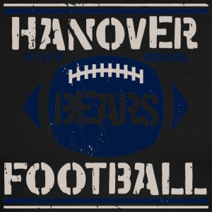 Hanover High School Bears Football - Men's Ringer T-Shirt