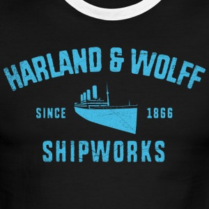 Harland and Wolff - Men's Ringer T-Shirt