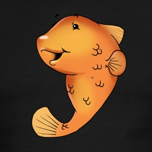 pisces fish goldfish koi - Men's Ringer T-Shirt