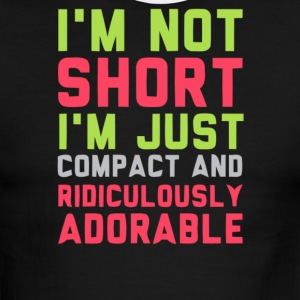 I'm not short i'm just compact and ridiculously - Men's Ringer T-Shirt