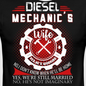 Diesel Mechanic Wife Shirt - Men's Ringer T-Shirt
