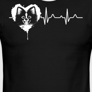 Pomeranian Heart Shirt - Men's Ringer T-Shirt