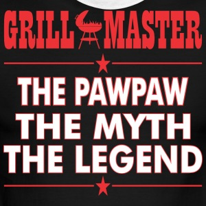 Grillmaster The Pawpaw The Myth The Legend BBQ - Men's Ringer T-Shirt