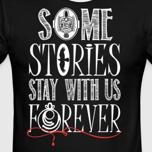 TVD. Some Stories Stay With Us Forever. - Men's Ringer T-Shirt