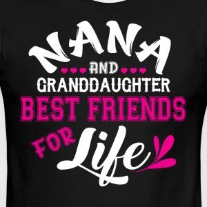 Nana And Granddaughter Best Friends T Shirt - Men's Ringer T-Shirt