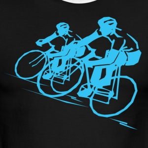 Bicycle Racers - Men's Ringer T-Shirt