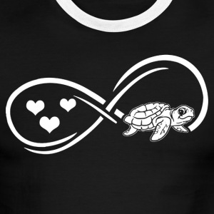 Turtle Infinity Shirt - Men's Ringer T-Shirt