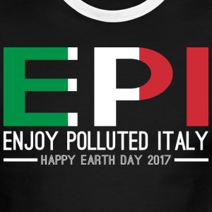 EPI Enjoy Polluted Italy Happy Earth Day 2017 - Men's Ringer T-Shirt