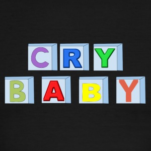 Cry Baby Blocks - Men's Ringer T-Shirt