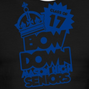CLASS OF 17 BOW DOWN MASON HIGH SENIORS - Men's Ringer T-Shirt