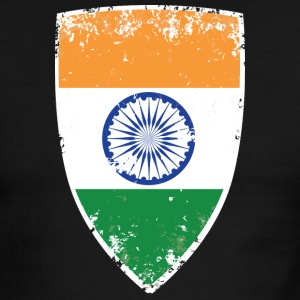 Flag of India - Men's Ringer T-Shirt