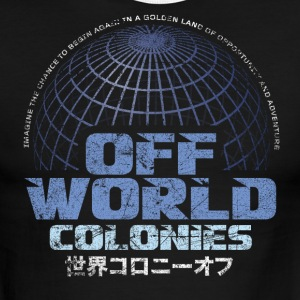 Off World Colonies - Men's Ringer T-Shirt
