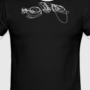 Turntables - Men's Ringer T-Shirt