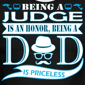 Being Judge Is Honor Being Dad Priceless - Men's Ringer T-Shirt