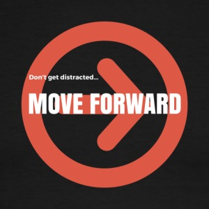 Move Forward - Men's Ringer T-Shirt