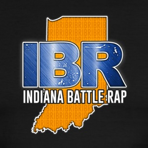 IBR (INDIANA BATTLE RAP) LOGO - Men's Ringer T-Shirt