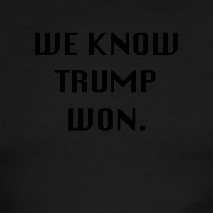 WEKNOWTRUMPWON - Men's Ringer T-Shirt