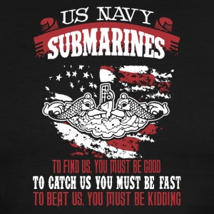 US Navy Submarine Shirt - Men's Ringer T-Shirt