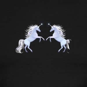 unicorns horse unicorn pony magical - Men's Ringer T-Shirt