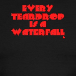 Coldplay Every teardrop is a waterfall - Men's Ringer T-Shirt
