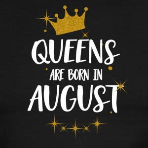 QUEENS ARE BORN IN AUGUST - Men's Ringer T-Shirt
