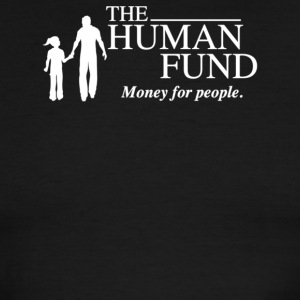 he Human Fund Money For People - Men's Ringer T-Shirt