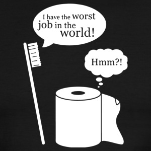 I Have The Worst Job In The World - Men's Ringer T-Shirt