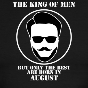 King Of Men Born In August - Men's Ringer T-Shirt