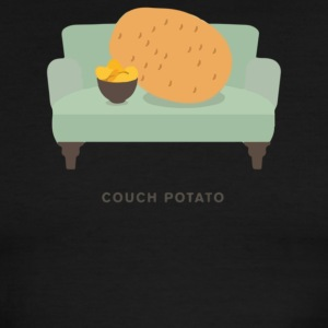Couch Potato Pun - Men's Ringer T-Shirt