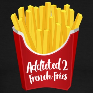 Addicted to French Fries - Men's Ringer T-Shirt