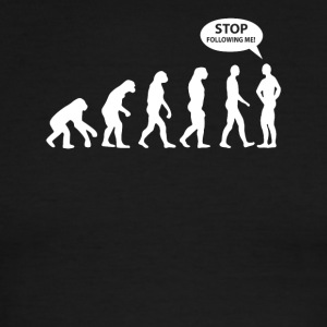 Stop Following Me T-Shirt - Men's Ringer T-Shirt