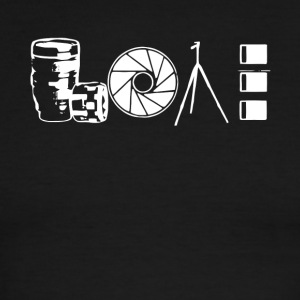 Photographer Lover T Shirt, - Men's Ringer T-Shirt