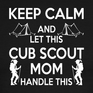 Let This Cub Scout Mom Handle This T Shirt - Men's Ringer T-Shirt