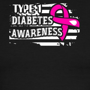 Diabetes Awareness Shirt - Men's Ringer T-Shirt