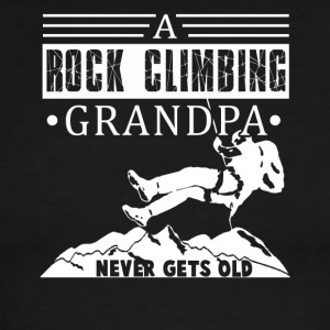 Rock Climbing Grandpa Tee Shirt - Men's Ringer T-Shirt