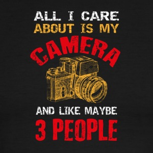 Camera T-shirt design - Men's Ringer T-Shirt
