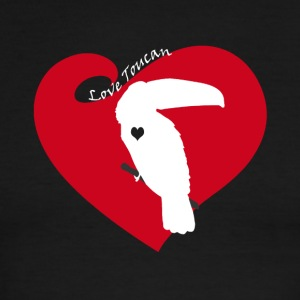 Love Toucan Tee Shirt - Men's Ringer T-Shirt