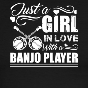 Girl In Love With Banjo Player - Men's Ringer T-Shirt