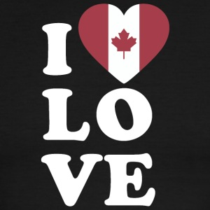I love Canada - Men's Ringer T-Shirt