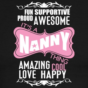 It's A Nanny Thing T Shirt - Men's Ringer T-Shirt