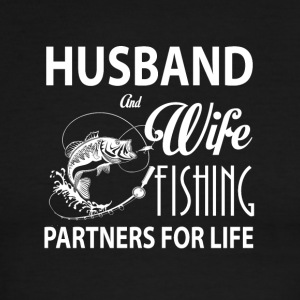 Husband And Wife Fishing Partners For Life T Shirt - Men's Ringer T-Shirt