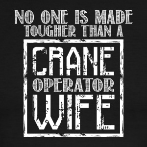 Crane Operator Wife T Shirt - Men's Ringer T-Shirt