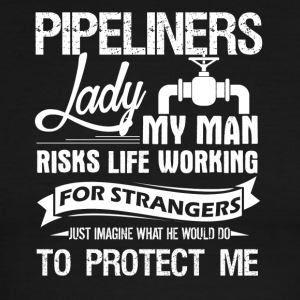 PIPELINERS LADY TEE SHIRT - Men's Ringer T-Shirt