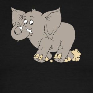 Save Elephant Tshirt - Men's Ringer T-Shirt