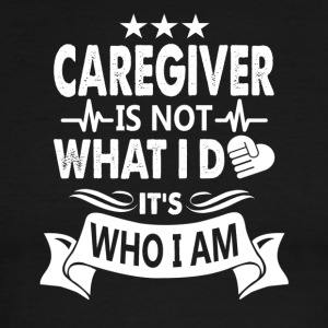 Caregiver Tee Shirt - Men's Ringer T-Shirt